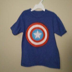 Marvel Kids T-Shirt, Captain America, Med